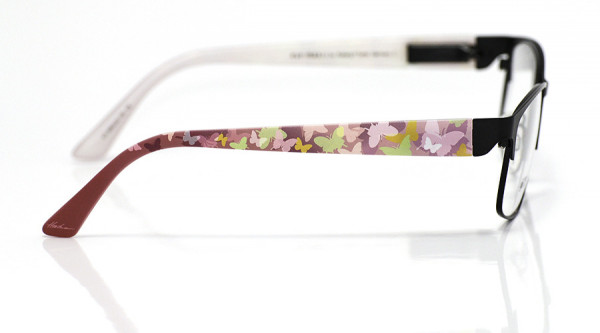 eye:max Wechselbügel 5693.22 Kunststoff Schmetterlinge pastell rosa 135mm