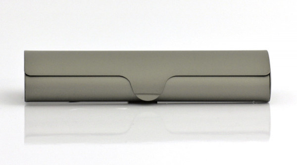 Aluminiumetui - grün - klein