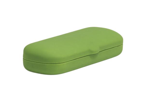 einfaches, großes Klappetui - grün