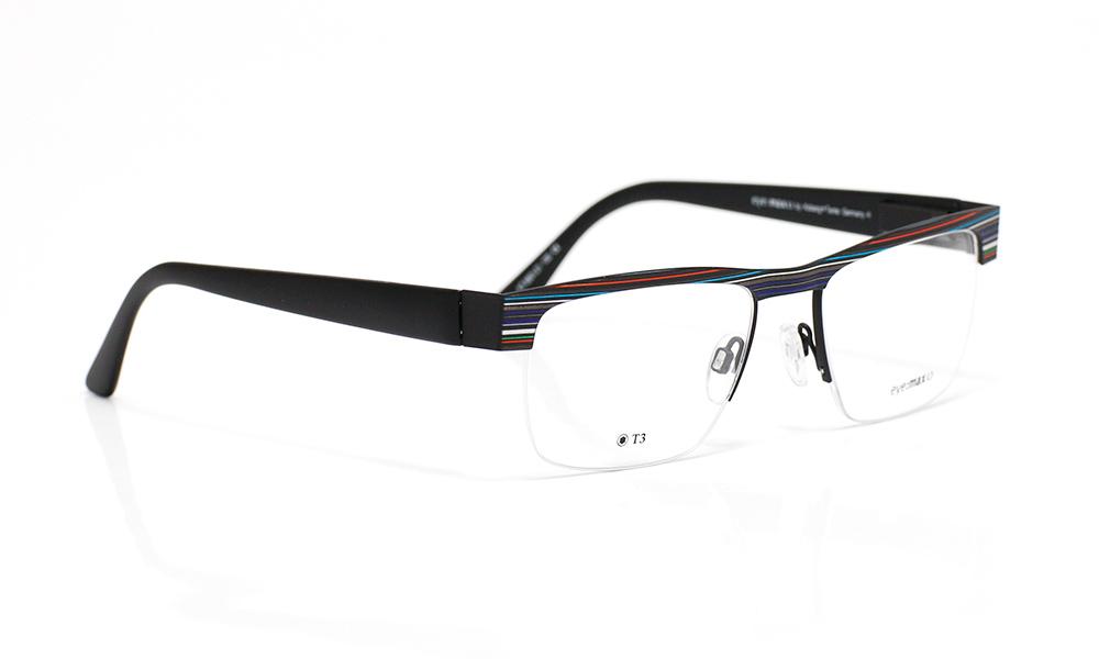 eye max brillenfassung black tie gestreift brillenfassungen eye max shop. Black Bedroom Furniture Sets. Home Design Ideas