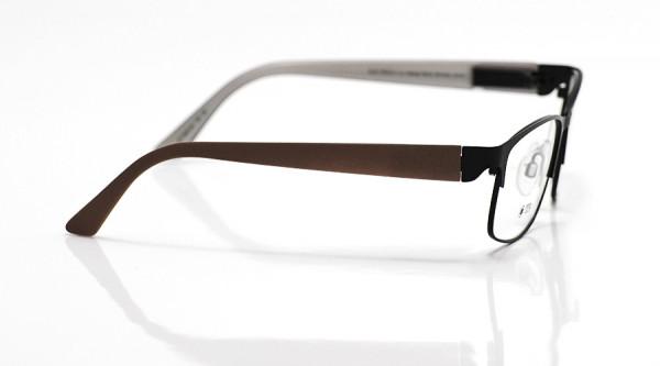 eye:max Wechselbügel 5603.02 Kunststoff braun matt 135mm