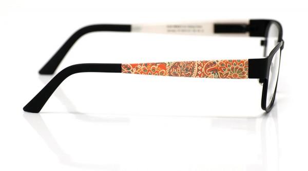 eye:max Wechselbügel 5674.121 Kunststoff Paisley orange 135mm