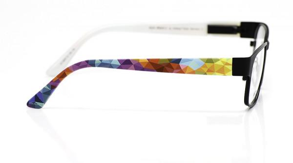 eye:max Wechselbügel 5697.12 Kunststoff wilde Dreiecke bunt 135mm