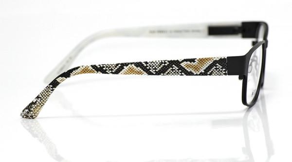 eye:max Wechselbügel 5552.01 Kunststoff Python Haut natur 135mm
