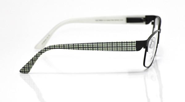 eye:max Wechselbügel 5653.05 Kunststoff schwarz grün karo 135mm