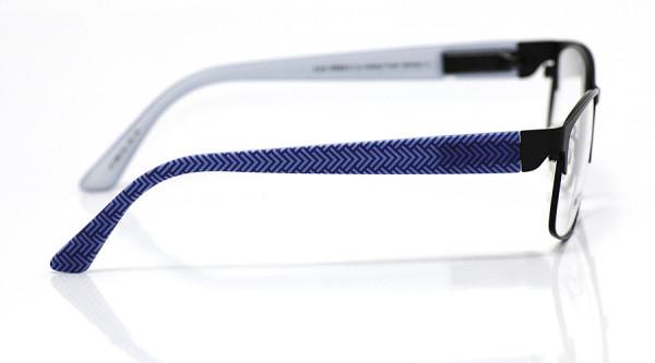 eye:max Wechselbügel 5897.32 Kunststoff Fischgrätmuster blau 135mm