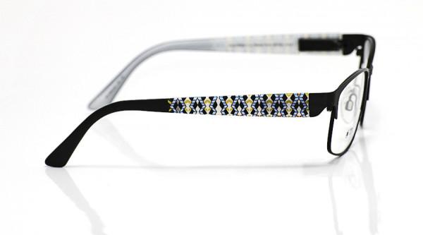 eye:max Wechselbügel 5645.02 Kunststoff blau gelb 135mm