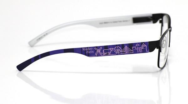 eye:max Wechselbügel 5872.01 Kunststoff Niederrhein lila 138mm