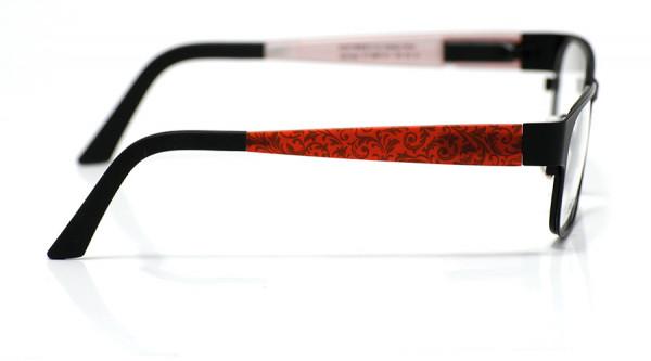 eye:max Wechselbügel 5897.511 Kunststoff Curley Blätter rot 135mm