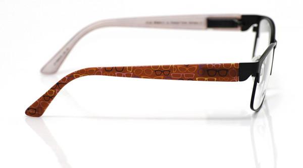 eye:max Wechselbügel 5836.02 Kunststoff Brillenmuster rot 135mm