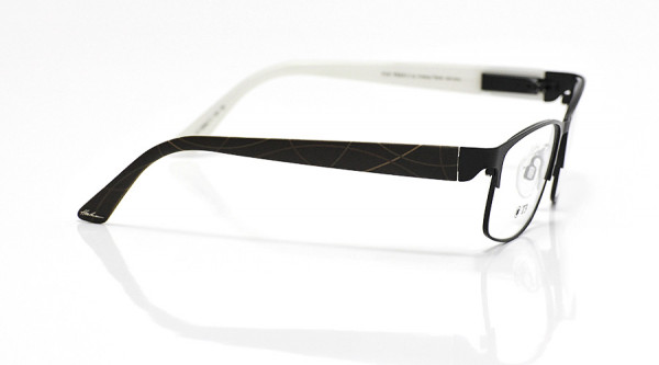 eye:max Wechselbügel 5668.11 Kunststoff Bogenlinie braun 135mm
