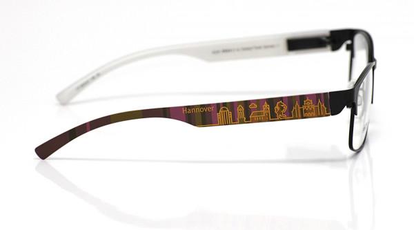 eye:max Wechselbügel 5878.07 Kunststoff Hannover braun lila 138mm