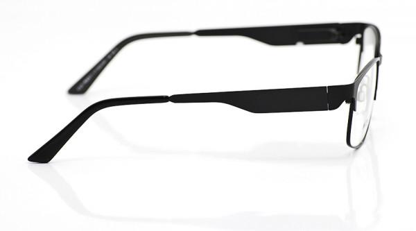eye:max Wechselbügel 5526.0001 Edelstahl black tie matt 140mm