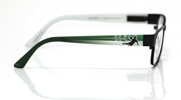 eye:max Wechselbügel 5810.05 Kunststoff Handball grün weiß 135mm