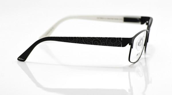 eye:max Wechselbügel 5670.03 Kunststoff Curly schwarz 135mm