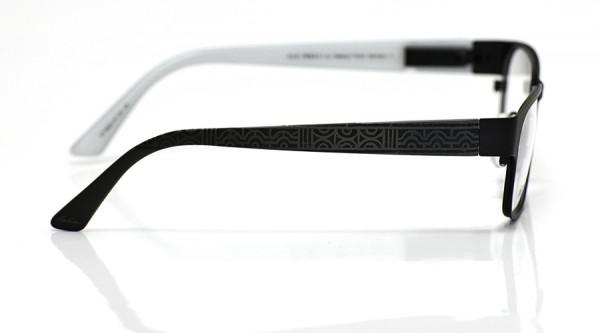 eye:max Wechselbügel 5824.15 Kunststoff Ethno geometrisch schwarz 135mm