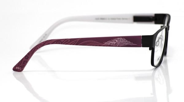 eye:max Wechselbügel 5559.02 Kunststoff Feder aubergine 135mm