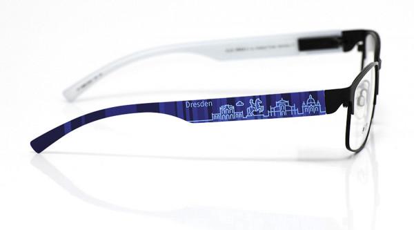 eye:max Wechselbügel 5896.0062 Kunststoff Dresden blau 138mm