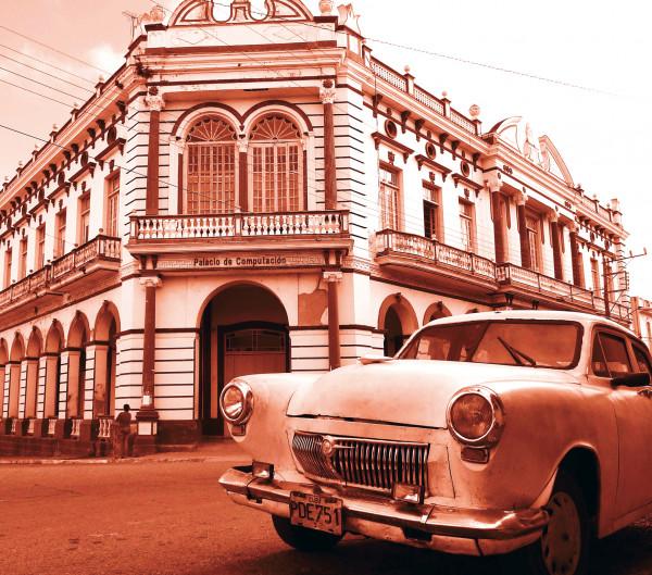 Microfasertuch mit Motiv Kuba