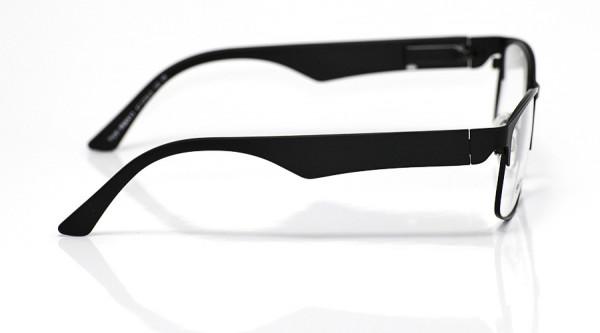 eye:max Wechselbügel 5606.01 Kunststoff schwarz matt 135mm