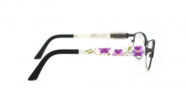 eye:max Wechselbügel 5579.16 lila Blume, Kunststoff 135mm