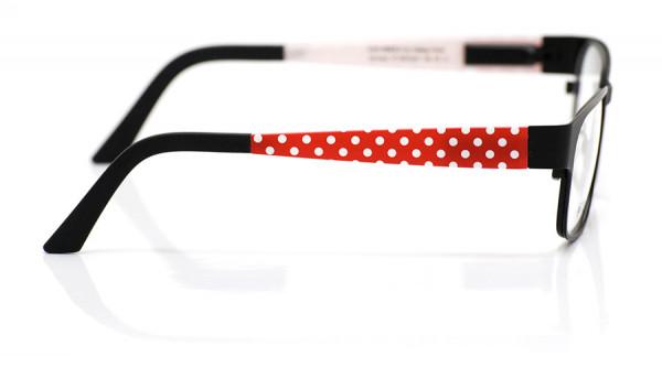 eye:max Wechselbügel 5574.021 Kunststoff Punkte rot weiß 135mm