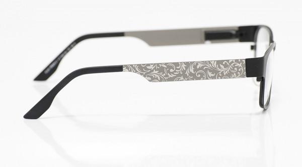 eye:max Wechselbügel 5591.04 Edelstahl mit Blättermotiv 135mm