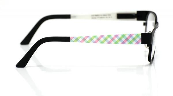 eye:max Wechselbügel 5460.02 Kunststoff Karos grün, rosa 135mm