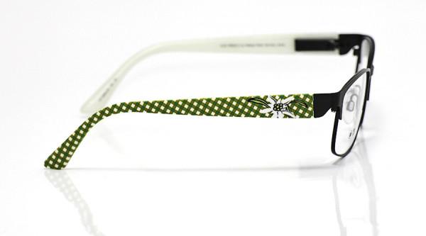 eye:max Wechselbügel 5654.05 Kunststoff Edelweiß grün weiß karo 135mm