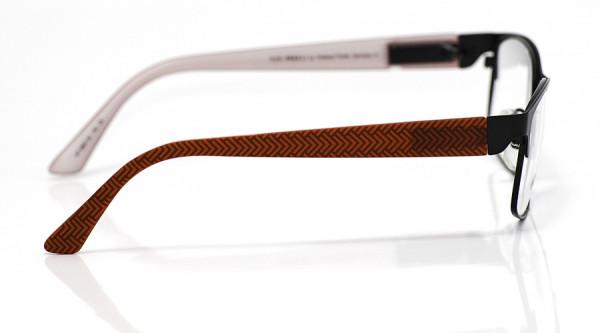 eye:max Wechselbügel 5897.52 Kunststoff Fischgrätmuster rot 135mm