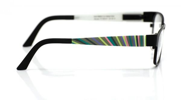 eye:max Wechselbügel 5564.071 Kunststoff bunte Streifen 135mm