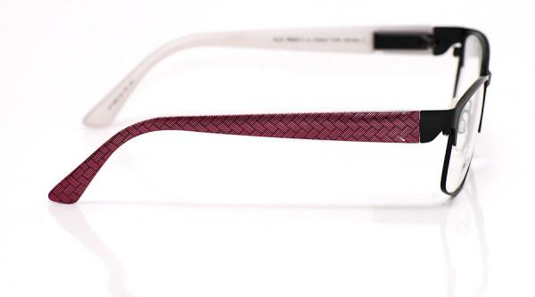 eye:max Wechselbügel 5627.22 Kunststoff rosa Zopfmuster 135mm
