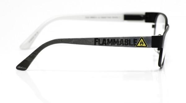 eye:max Wechselbügel 5578.02 Kunststoff Gefahrenzeichen Flammable 135mm