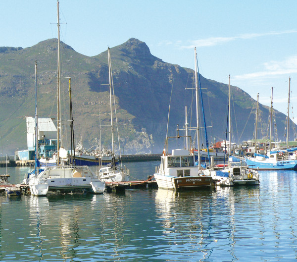 Microfasertuch mit Motiv Kapstadt Hafen