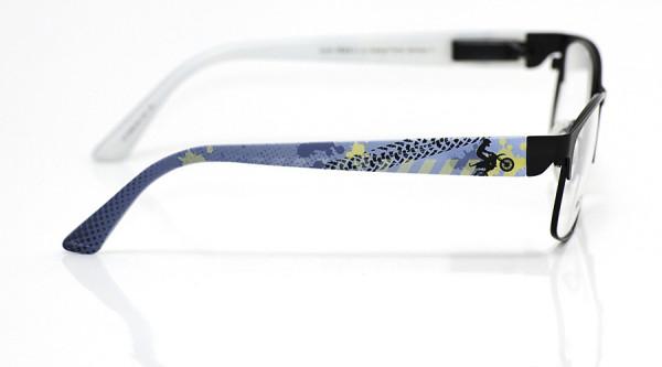 eye:max Wechselbügel 5550.04 Kunststoff Enduro blau 135mm