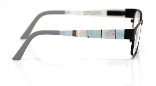 eye:max Wechselbügel 5579.052 Kunststoff Holzoptik matt 135mm