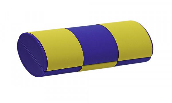 Zauberetui, Wendeetui - Größe S - rot/blau zu gelb/blau