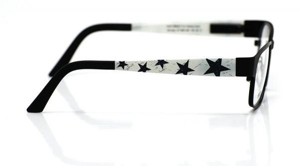 eye:max Wechselbügel 5891.061 Kunststoff Sterne groß hellgrrau 135mm