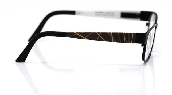 eye:max Wechselbügel 5415.051 Kunststoff Streifen braun 135mm