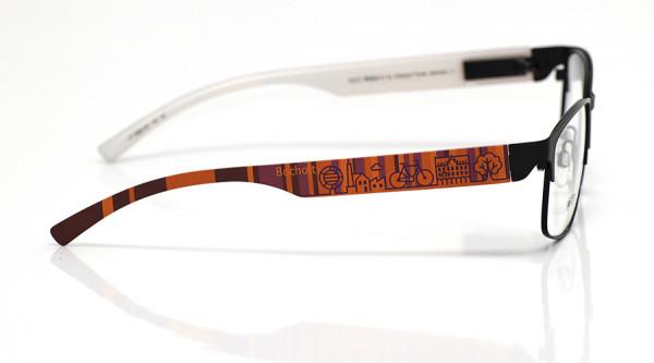 eye:max Wechselbügel 5880.06 Kunststoff Bocholt rot lila 138mm