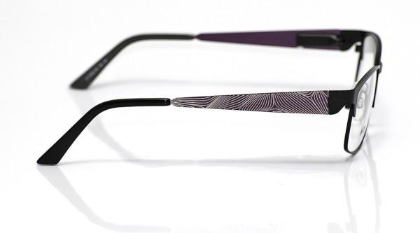 eye:max Wechselbügel 5700.184 Edelstahl lila silber glzd. 140mm