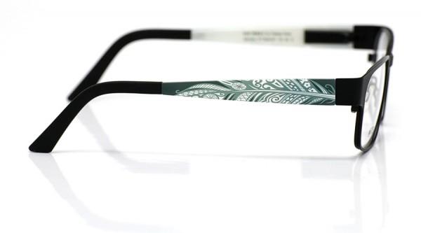 eye:max Wechselbügel 5559.051 Kunststoff Feder khaki 135mm