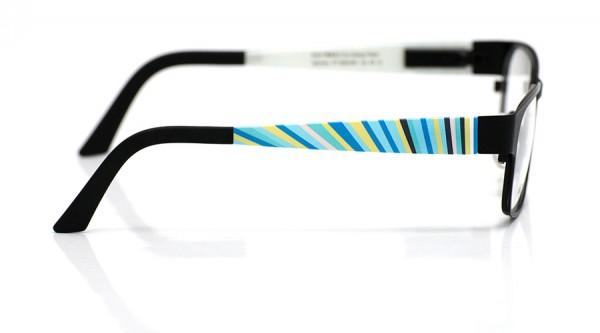 eye:max Wechselbügel 5564.081 Kunststoff bunte Streifen 135mm