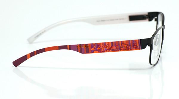 eye:max Wechselbügel 5896.0156 Kunststoff Duisburg rot lila 138mm