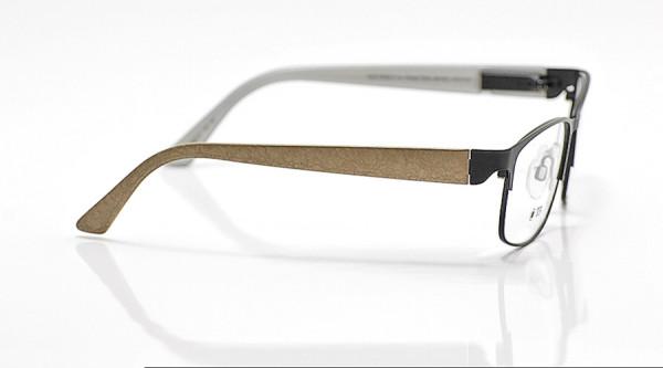 eye:max Wechselbügel 5663.07 Kunststoff Brokat braun 135mm