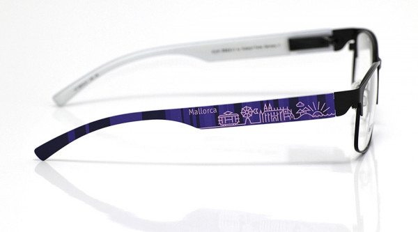 eye:max Wechselbügel 5874.01 Kunststoff Mallorca lila 138mm