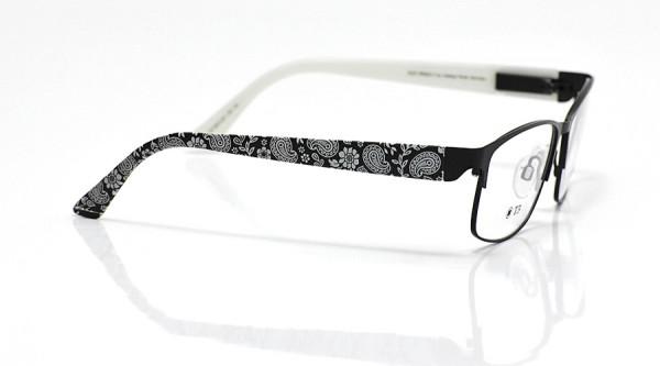 eye:max Wechselbügel 5674.03 Kunststoff Paisley schwarz 135mm