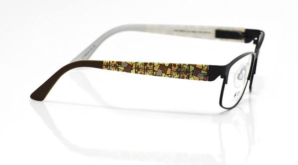 eye:max Wechselbügel 5680.05 Kunststoff Mosaik braun 135mm