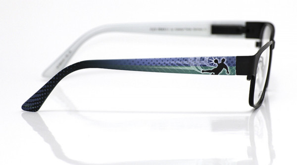 eye:max Wechselbügel 5810.01 Kunststoff Handball blau grün 135mm