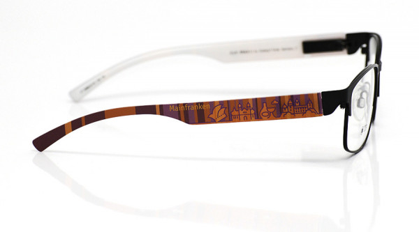 eye:max Wechselbügel 5896.0116 Kunststoff Mainfranken rot lila 138mm